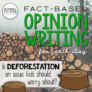 Deforestation persuasive writing