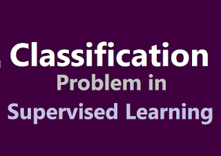 Classification problem in supervised machine learning in hindi