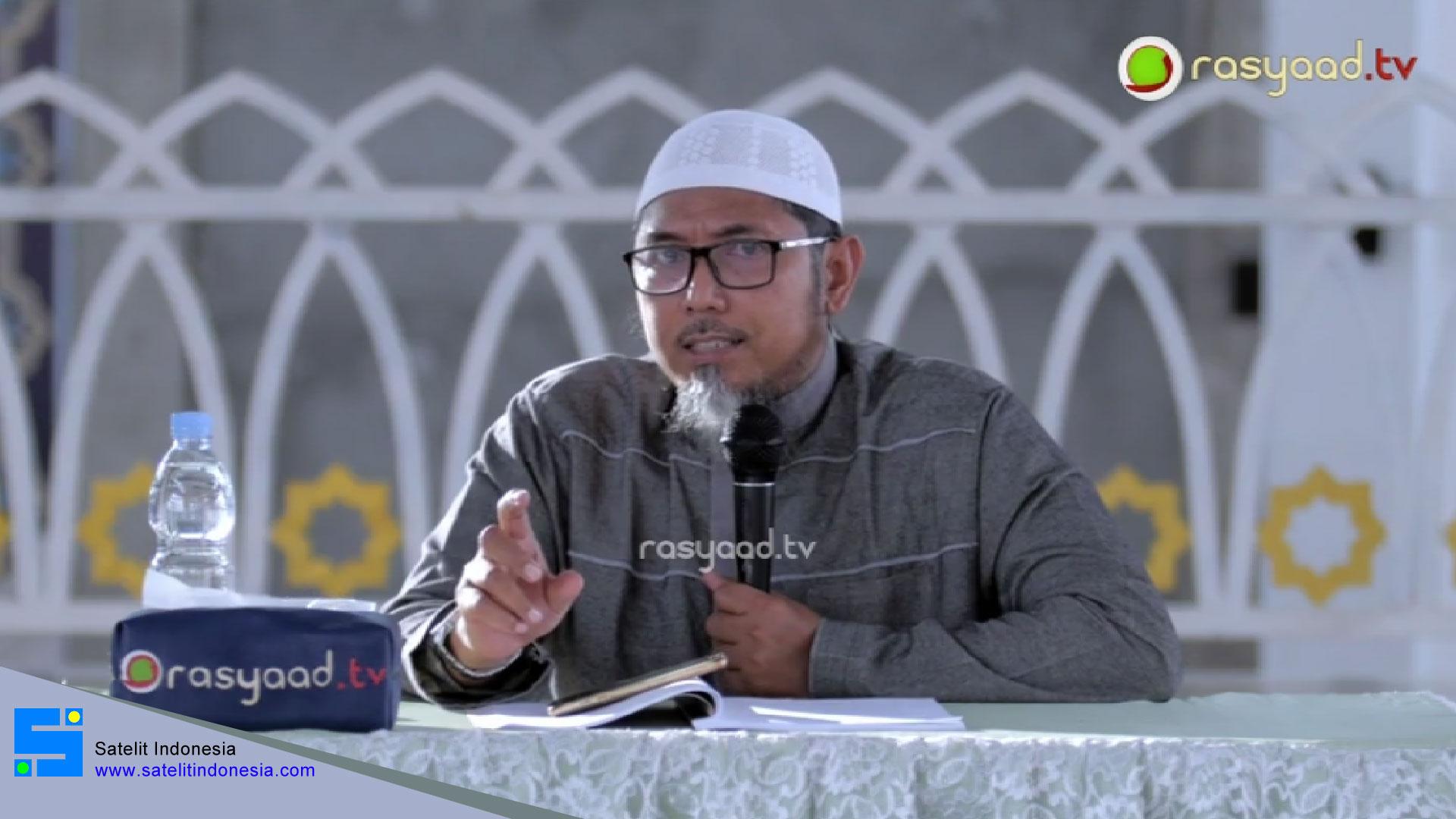 Frekuensi siaran Rasyaad TV di satelit Telkom 4 Terbaru