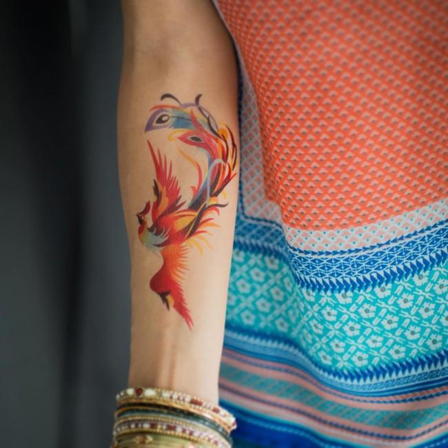 100 Fascinantes Tatuajes De Acuarelas Que Te Harías Hoy Mismo