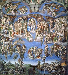 ミケランジェロ、最後の審判、システィーナ礼拝堂