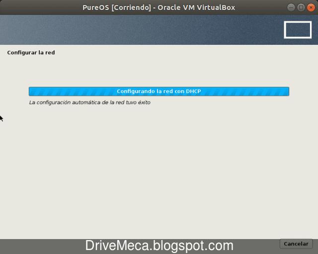 Se activa la tarjeta de red y busca conexion por DHCP