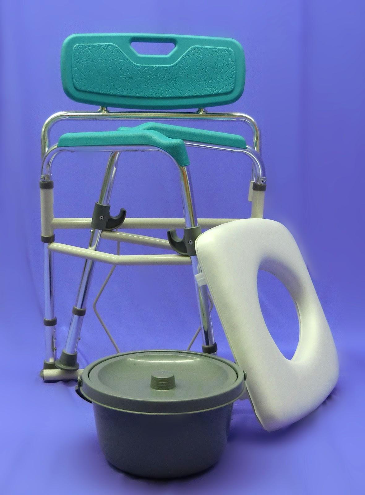 Shower Chair Malaysia Knoll Task Aluminium Folding Commode Penang Kerusi