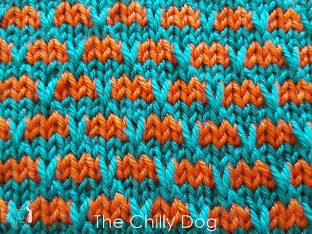 Learn how to knit the Brick and Mortar Stitch