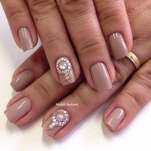 30 nude nail art ideas and designs for inspiration fine art and 30 nude nail art ideas and designs for inspiration prinsesfo Images