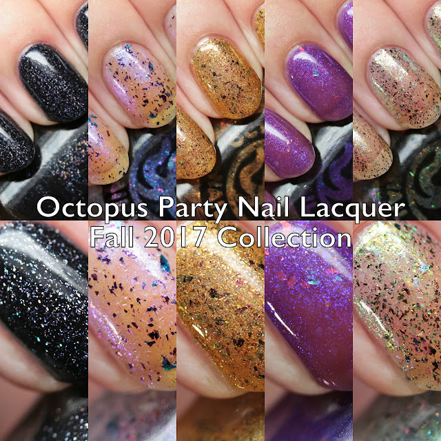 Octopus Party Nail Lacquer Fall 2017 Collection