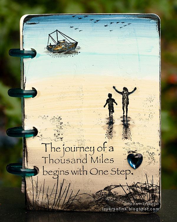 Nautical Mini Album Tutorial