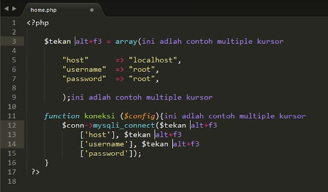 Tutorial Sublime Text 3 – #4 Editing (Bagian 1) 5