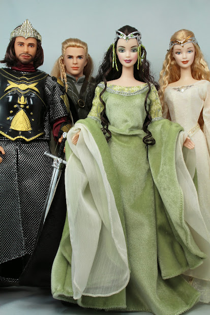 Lord of the Rings Barbie Dolls