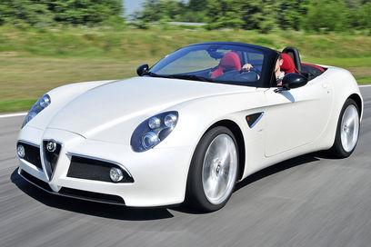 Most Wanted Cars Alfa Romeo 8c Spider Most Expensive Car