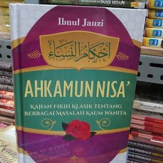 Buku terjemahan Ahkamunnisa ibnul jauzi