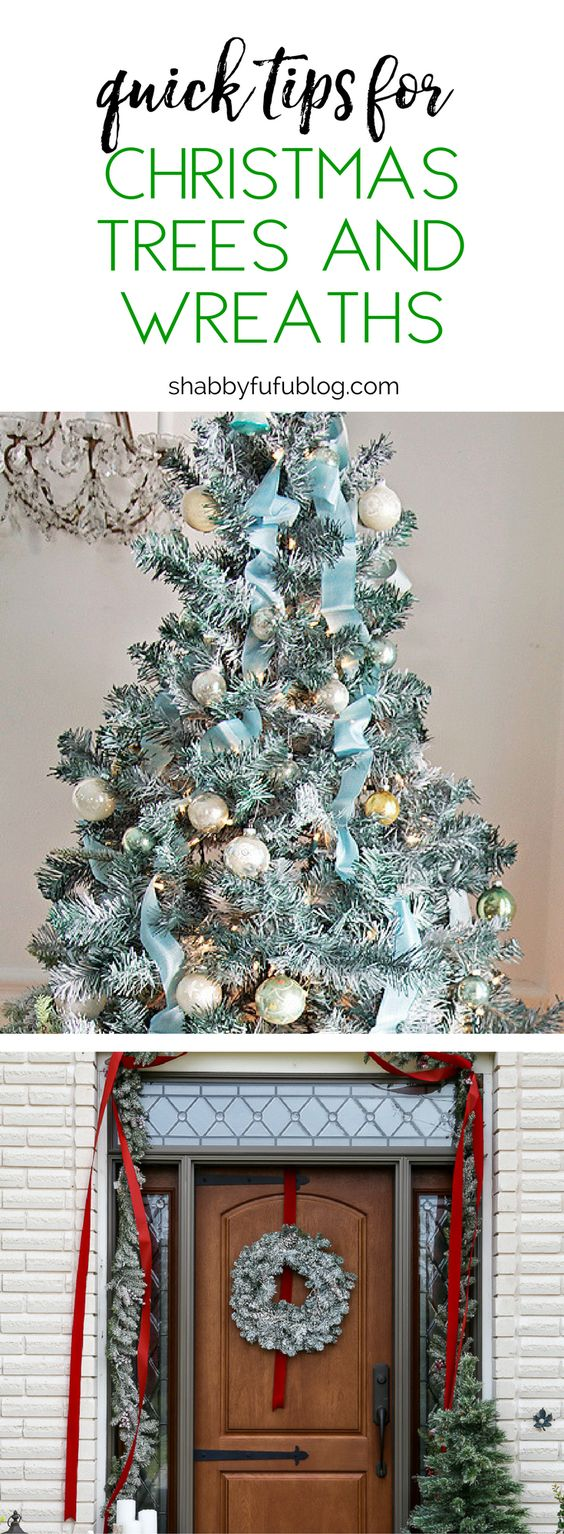 Budget Decorating - Quick Tips For Christmas Trees and Wreaths