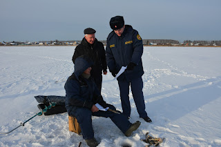 Правила поведения на льду с. Грязновское