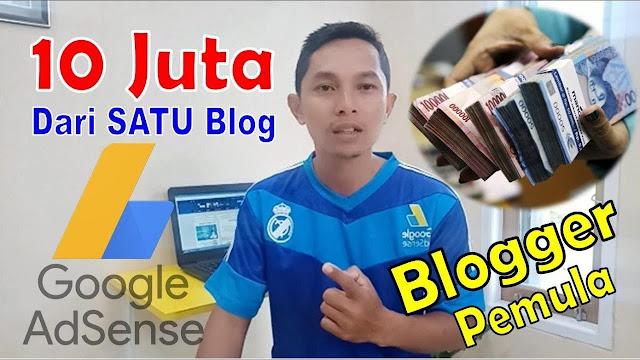 Menghasilkan uang dari blog dengan Adsense