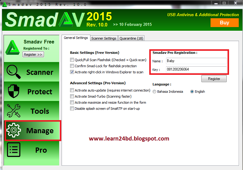 Latest SmadAV Pro Antivirus 2017 - Online Tips