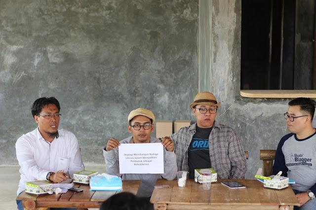 Pembicara di Bincang Literasi Pesona Kulminasi Matahari