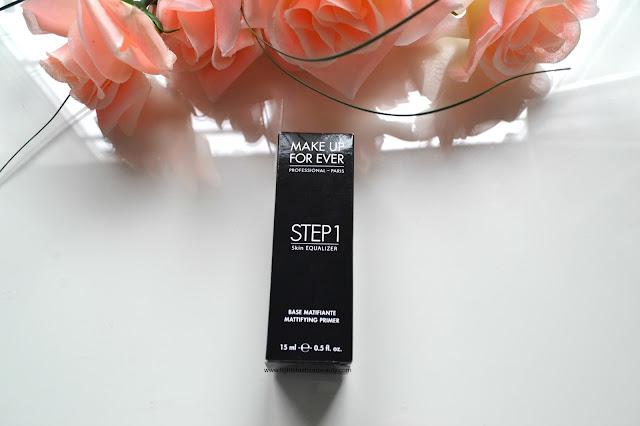 Make Up For Ever Step 1 Mattifying Primer, oily skin primer, mufe, makeup for ever,