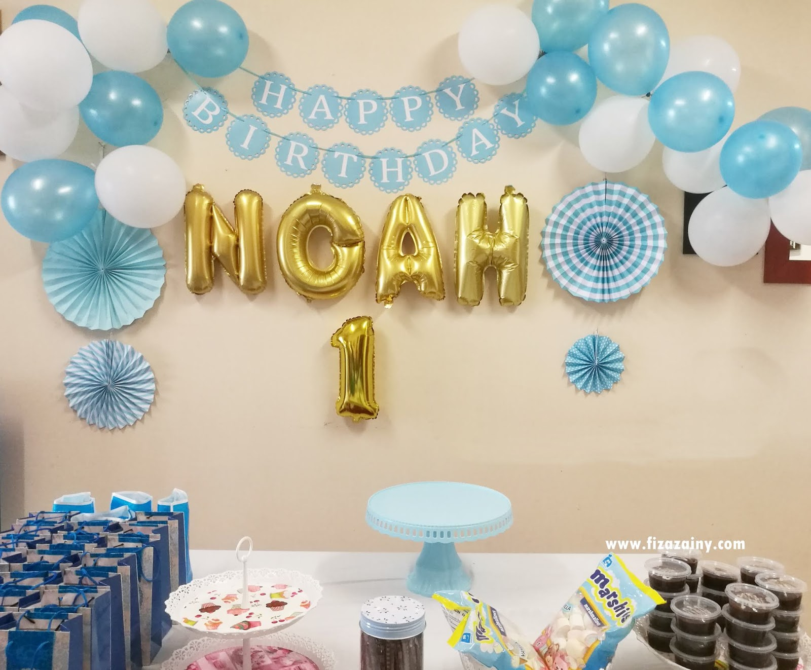 Fizafantagiro Sambutan Hari Lahir Noah Kasyaf