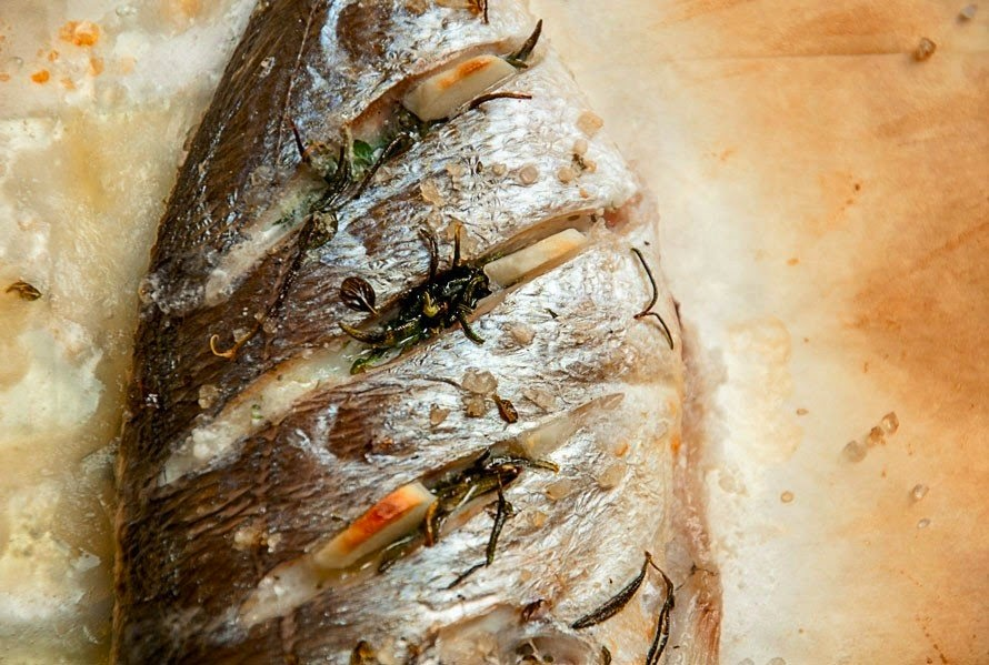 Marine Fish With Rosemary And Thyme Recipe Food Network