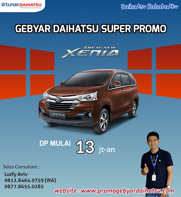Promo Daihatsu Dp Murah Xenia Jakarta 2018