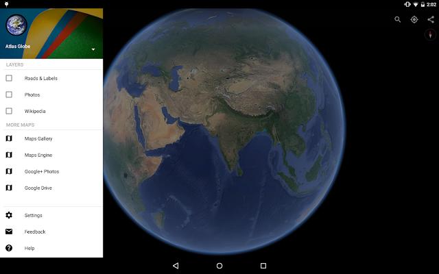 تطبيق جوجل ايرث Google Earth