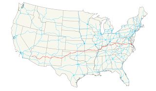 us highway 60 map