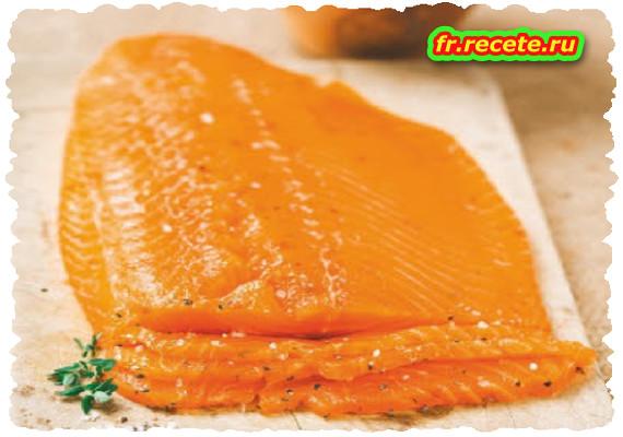 Tartare de saumon fumé à la mangue et avocat