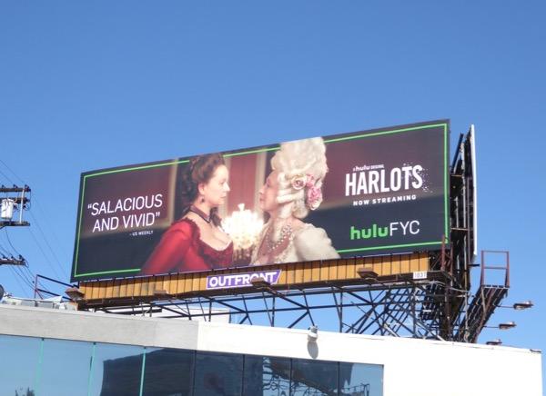Harlots 2017 Emmy FYC billboard