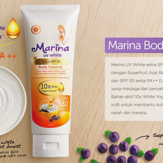 Marina UV White Extra SPF 30 Body Essence (Review)