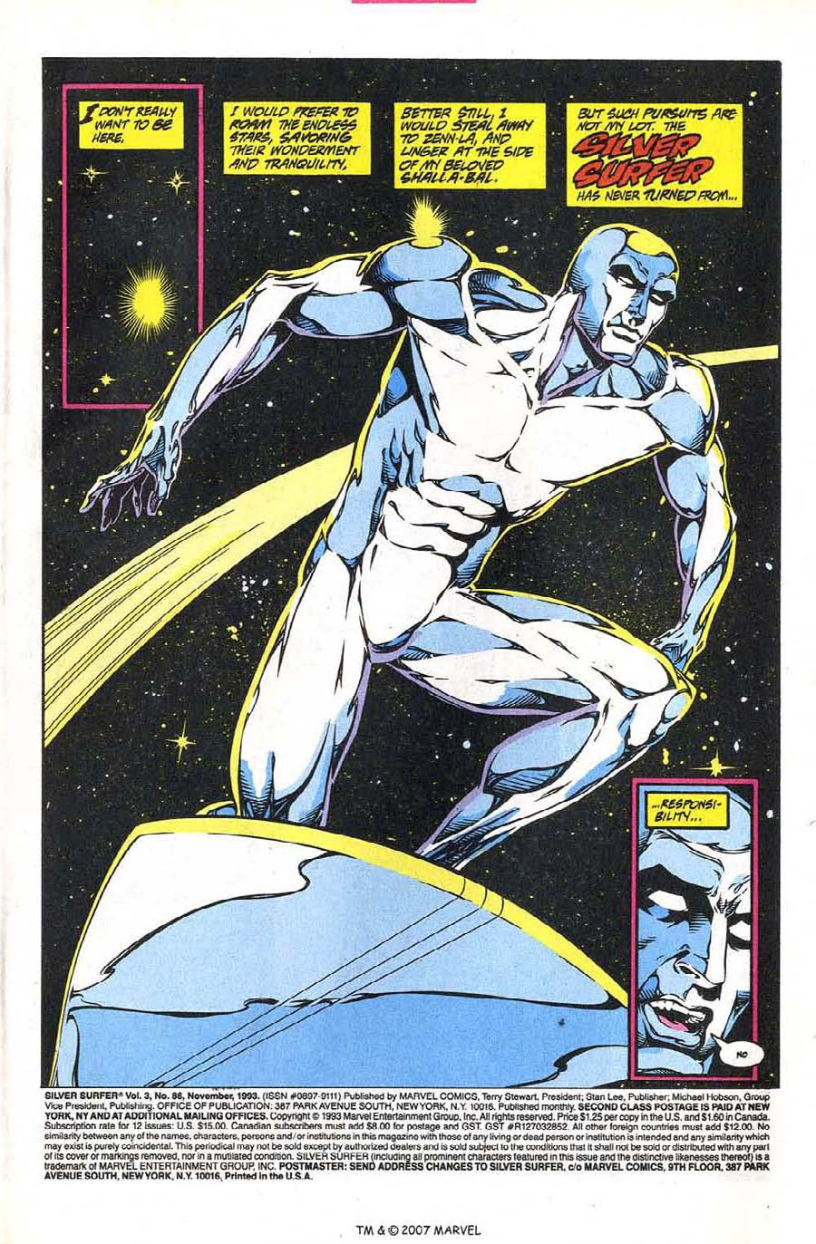 Read online Silver Surfer (1987) comic -  Issue #86 - 3