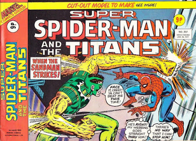 Super Spider-Man and the Super-Heroes #207, Sandman
