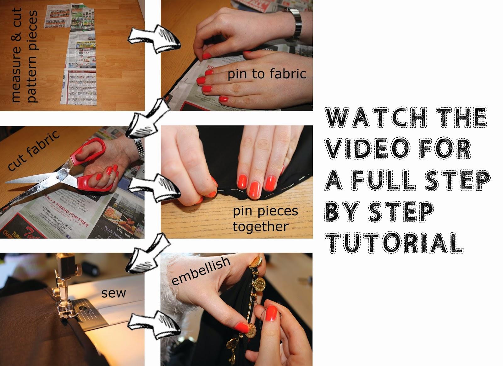 DIY kimono, step by step guide of how to make your own kimono, kimono tutorial