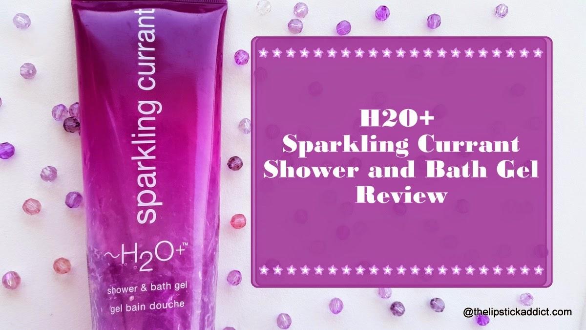 H2O+ Sparkling Currant Shower and Bath Gel