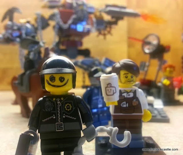 LEGO Movie characters Good Cop Bad Cop