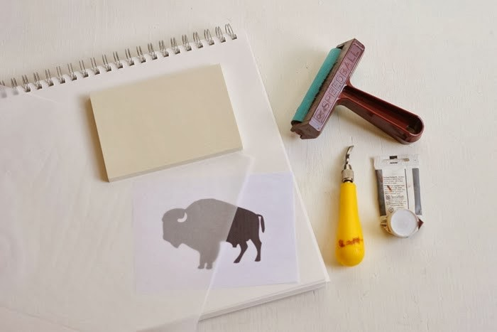 DIY - Buffalo Print | Poppytalk