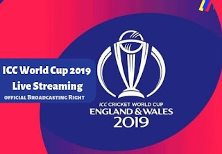 World Cup 2019 live Streaming Online