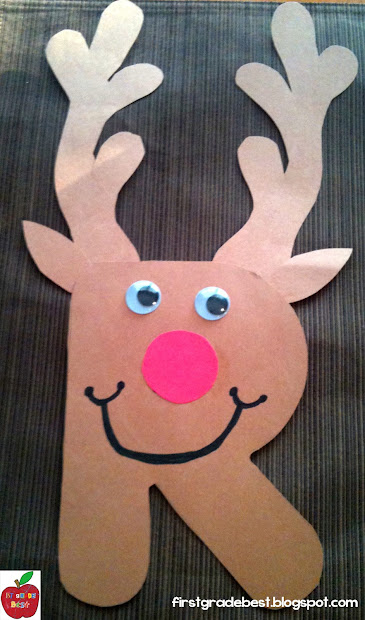 Reindeer Letter R Activities for Preschool