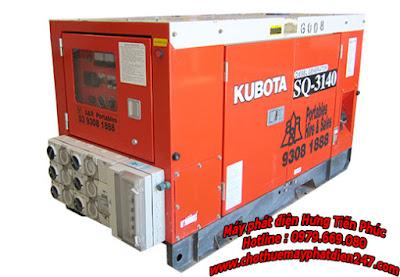 Máy phát điện Kubota 14kva SQ-3140