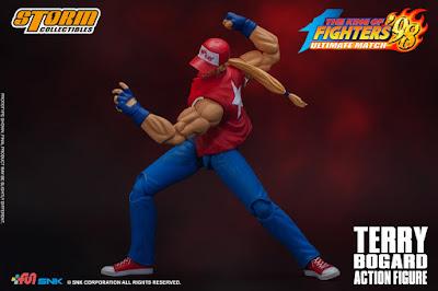 Figuras: Revelado a Terry Bogard de King of Fighters para - Storm Collectibles