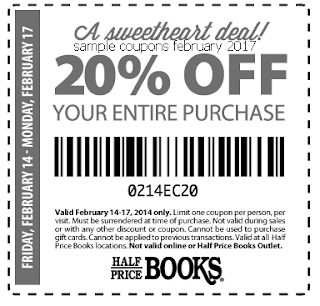 free Half Price Books coupons for february 2017