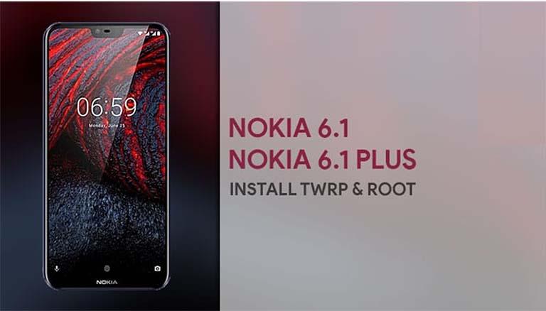 Cara Root & Instal TWRP Recovery Ponsel Nokia 6.1 Dan Nokia 6.1 Plus