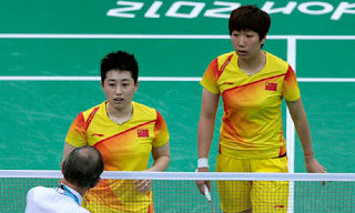 Olympic scandal badminton