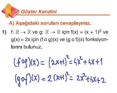 10. Sınıf Matematik Tuna Yayınları Ders Kitabı 98. Sayfa Çözümleri