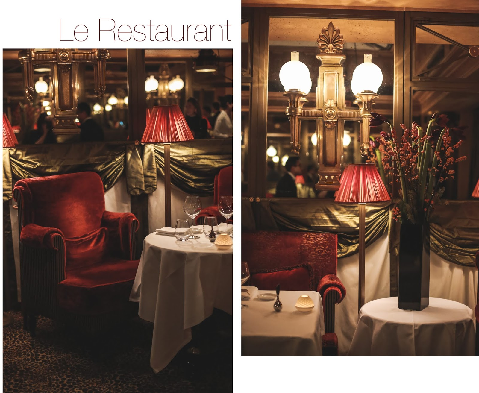 Le Restaurant avis blog food & lifestyle