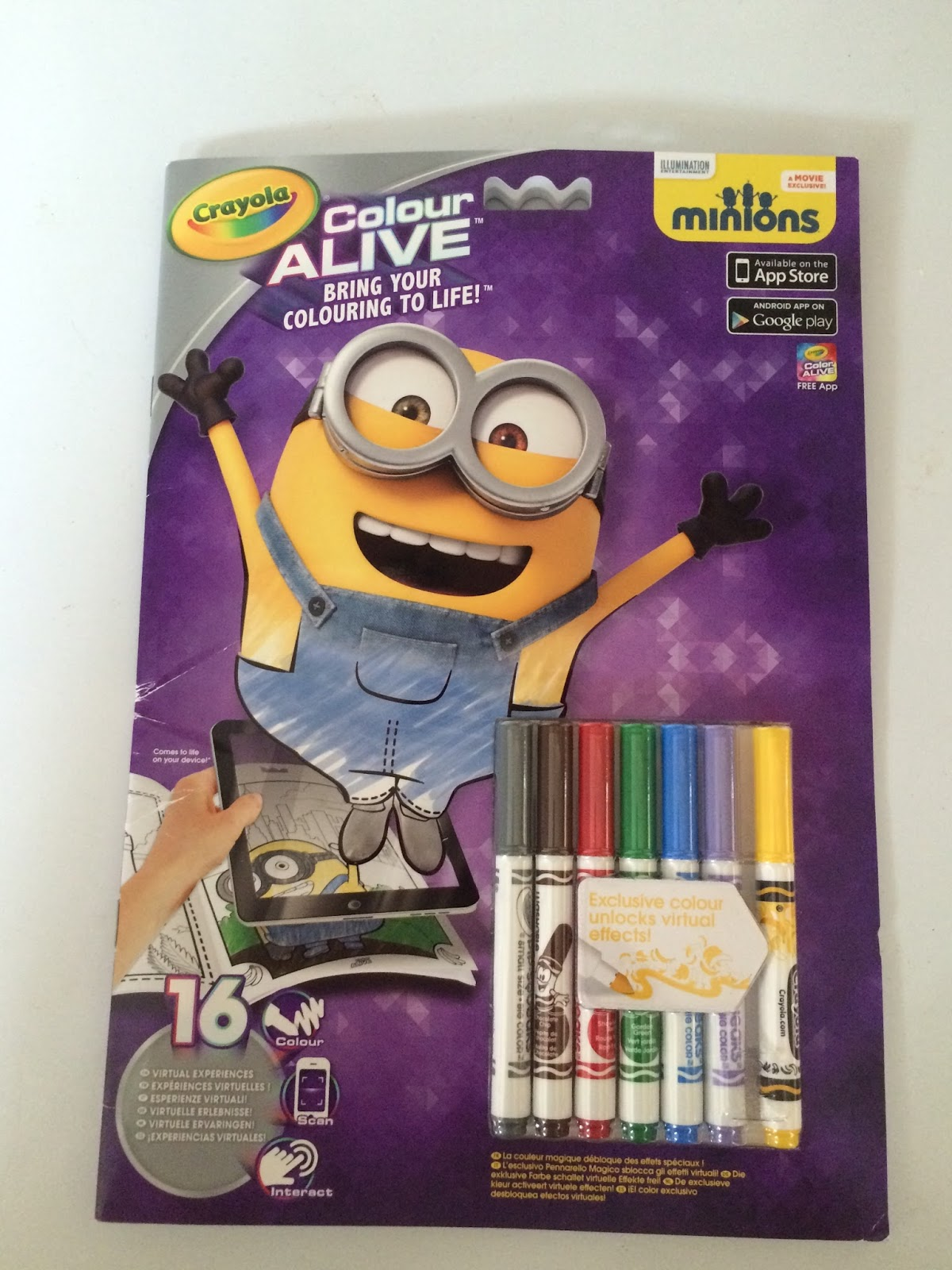 the minions crayola colour alive minions this is life.html