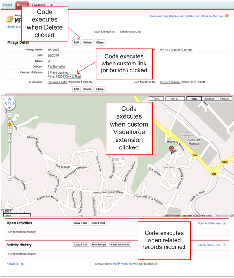 Visualforce Page Flow: Salesforce Easy Learn: January 2012