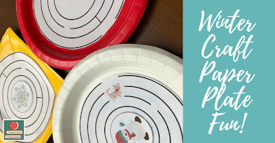 Check out this fun paper plate maze craft for an indoor recess or time filler activity! You can even tie it to your reading curriculum with character analysis and/or sequencing!