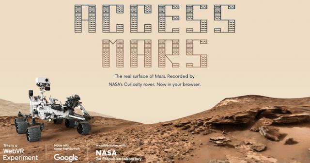 Acces Mars Project Google Untuk Menjelajah Mars Di Browser