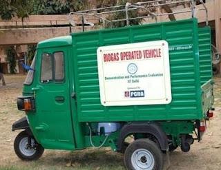 Bio Gas powered vehicle