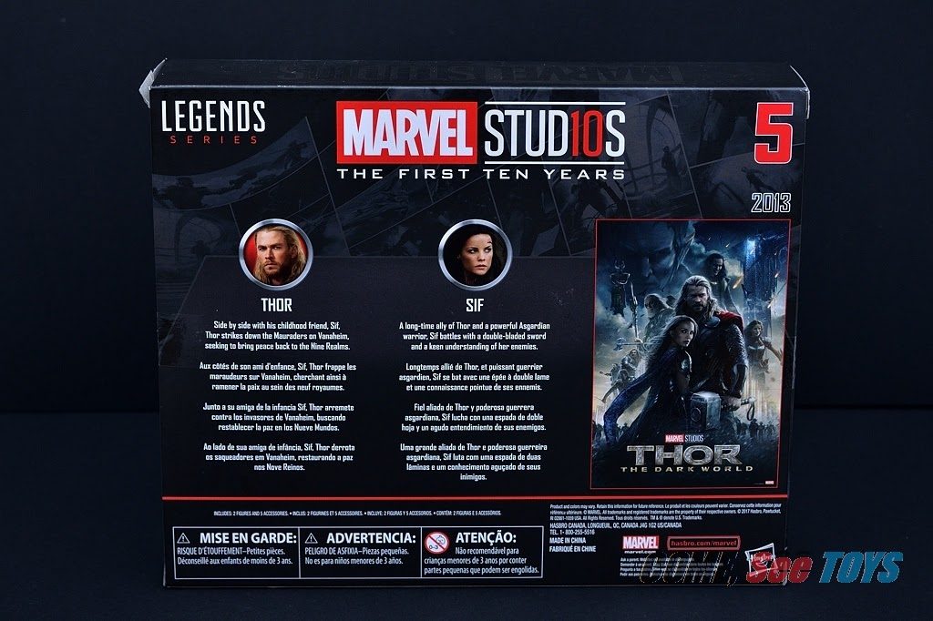 Come, See Toys: Marvel Legends Marvel Studios The First Ten Years